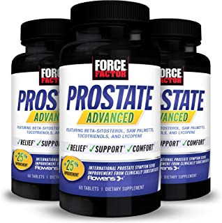 Force Factor Prostate Advanced, Health Supplement for Men for Reducing Nighttime Bathroom Trips, Bladder & Urinary Relief,...