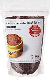 Original Indian Table Chingrihuli Red Rice, 400g x 2 (Pack of 2)