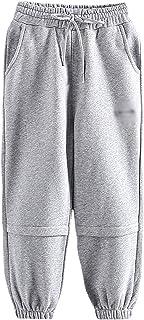 ZRFNFMA Ropa de niños, Pantalones Deportivos para niños, Pantalones Sueltos de niños Grandes, Pantalones de Moda Casuales,...