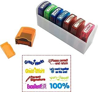 Best self inking teacher stamp set Reviews