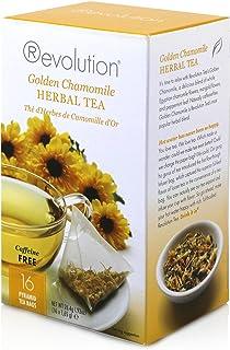 Revolution Tea - Golden Chamomile Herbal Tea | Premium Full Leaf Infuser Stringless Teabags - Immunity Boost (16 Bags)