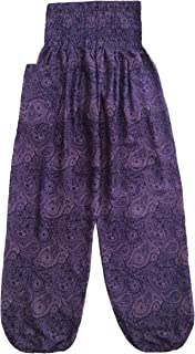 Love Quality Ladies Printed Harem Pants One Size Hippie Pants