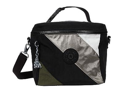 Kipling Graham (Black Mix Block) Cross Body Handbags
