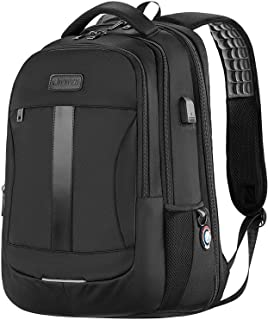 Laptop Backpack, Anti-Theft Business Travel Work Computer Rucksack with USB Charging Port, Large Lightweight College High ...