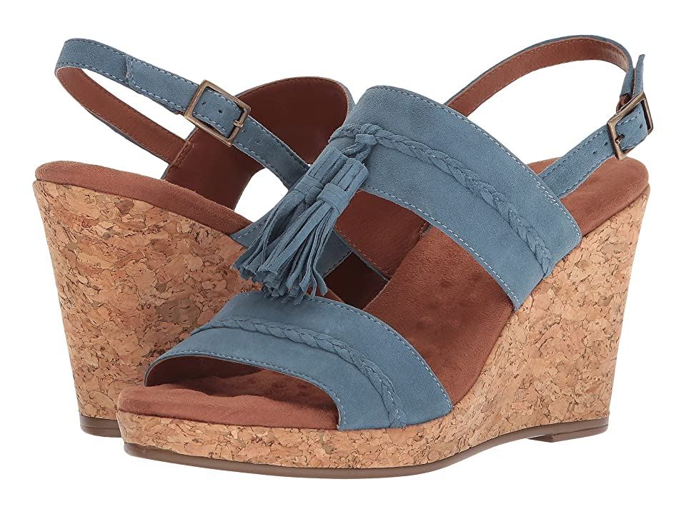 Walking Cradles Kalinda (Mayan Blue Suede) Women