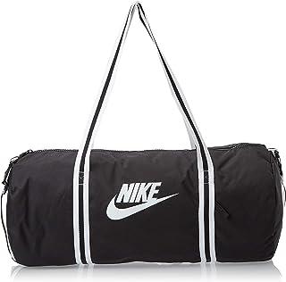 Nike Unisex-Adult Duffel Bag, Black/White - NKBA6147-010