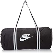 Nike Unisex-Adult Duffel Bag, Black/White - NKBA6147-010