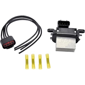 LUJUNTEC Blower Motor Resistor Connector Blower Motor Wiring Harness Replace 3F2Z18591AA Fit for 2008-2012 Ford Escape //2007-2017 Ford Expedition //2009-2014 Lincoln Navigator //2008-2011 Mazda Tribute