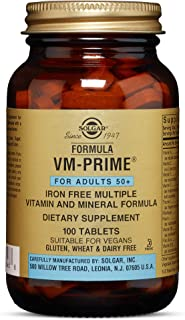 Solgar – Formula VM-Prime (For Adults 50+) 100 Tablets