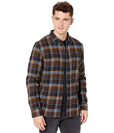 Vans Banfield III Flannel Shirt (Demitasse/Black) Men