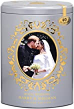 English Breakfast Tea Royal Wedding Commemorate the marriage of Prince Harry and Meghan Markle 40 Tea bags (Silver)