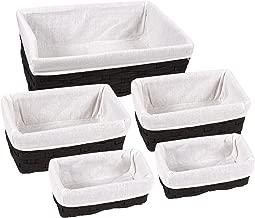 Best black decorative baskets Reviews