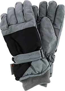 Polar Extreme Women's Waterproof Color Block Ski Glove with Wrist Strap