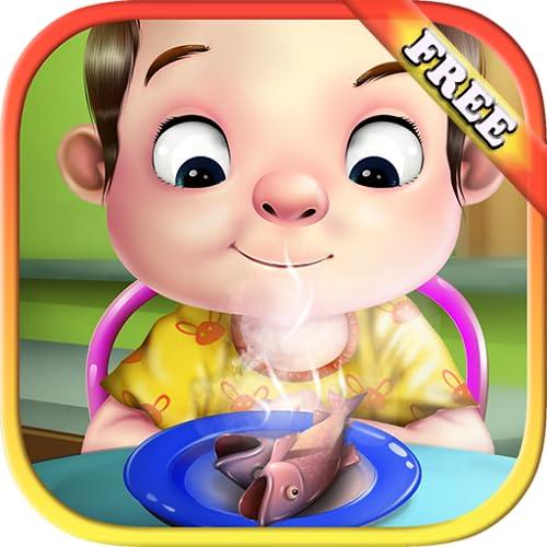Küche für Kinder kochen wie ein Chefkoch : kochen Sie die köstlichsten Speisen ! Spiel der Küche für Kinder KOSTENLOS