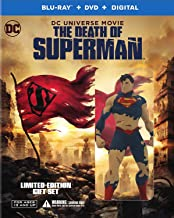 The Death of Superman Deluxe Edition Figurine [Blu-ray]
