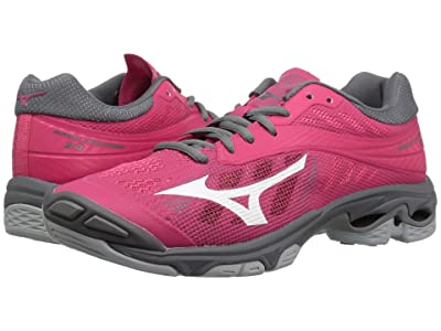 Mizuno Wave Lightning Z4 (Azalea/Charcoal) Women
