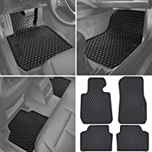 Floor Mats Clear Vinyl Protectors BMW 3-Series Front Only CUSTOM
