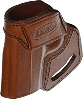Tagua MBH-1172 Middle Back Holster, Kahr CW 9s/40s, Brown, Ambidextrous