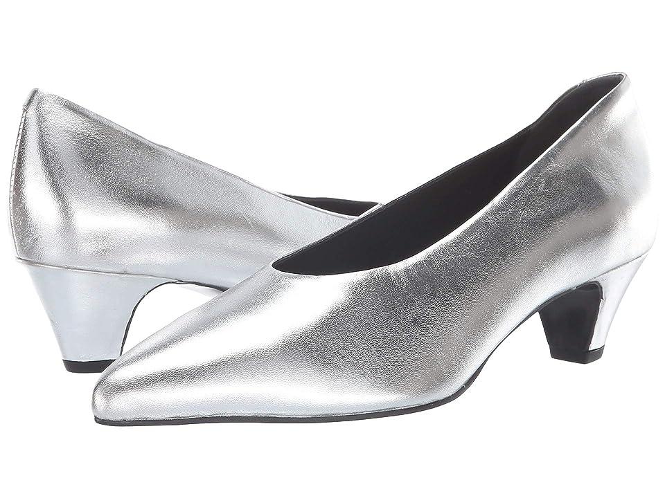Seychelles Delta Pump (Silver Leather) High Heels