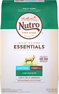 NUTRO Wholesome Essentials Adult Large Breed Natural Dry Dog Food - Lamb