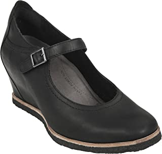 Women's Boden Black Burnishable Nubuck 8 B US
