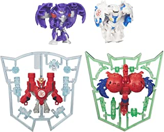 Transformers: Robots in Disguise Mini-Con 4 Pack (Hammer, Undertone, Anvil, and Slipstream)