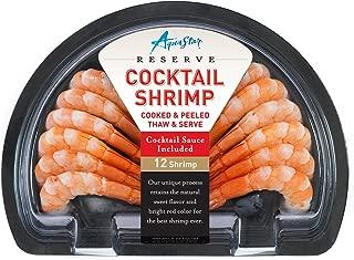 Aqua Star, Half Moon Cooked Shrimp With Sauce, 8 oz (Frozen)