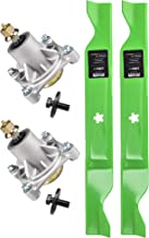 8TEN Spindle Medium-Lift Blade for Husqvarna 46 Inch Deck Z246 Z246i RZ 4621 4622T 4623 46i Zero Turn Mowers 532174356