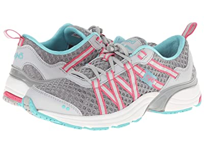 Ryka Hydro Sport SLP (Silver Cloud/Cool Mist Grey/Winter Blue/Hot Pink) Women