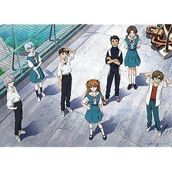 500ピース ジグソーパズル エヴァンゲリヲン新劇場版 屋上にて・・・ (38x53cm)