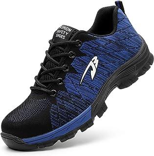 3db25876205b0 Aizeroth-UK Chaussure de Sécurité Respirant S3 Chaussure de Travail Embout  de Protection en Acier