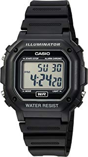 Casio Men's F108WH Illuminator Collection Black Resin...