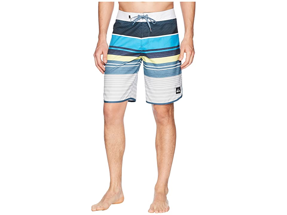 Quiksilver Eye Scallop 20 Boardshorts (Cyan Blue) Men