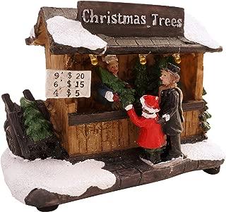 miniature christmas buildings