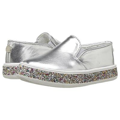 Steve Madden Kids Tgloree (Toddler/Little Kid) (Silver) Girls Shoes