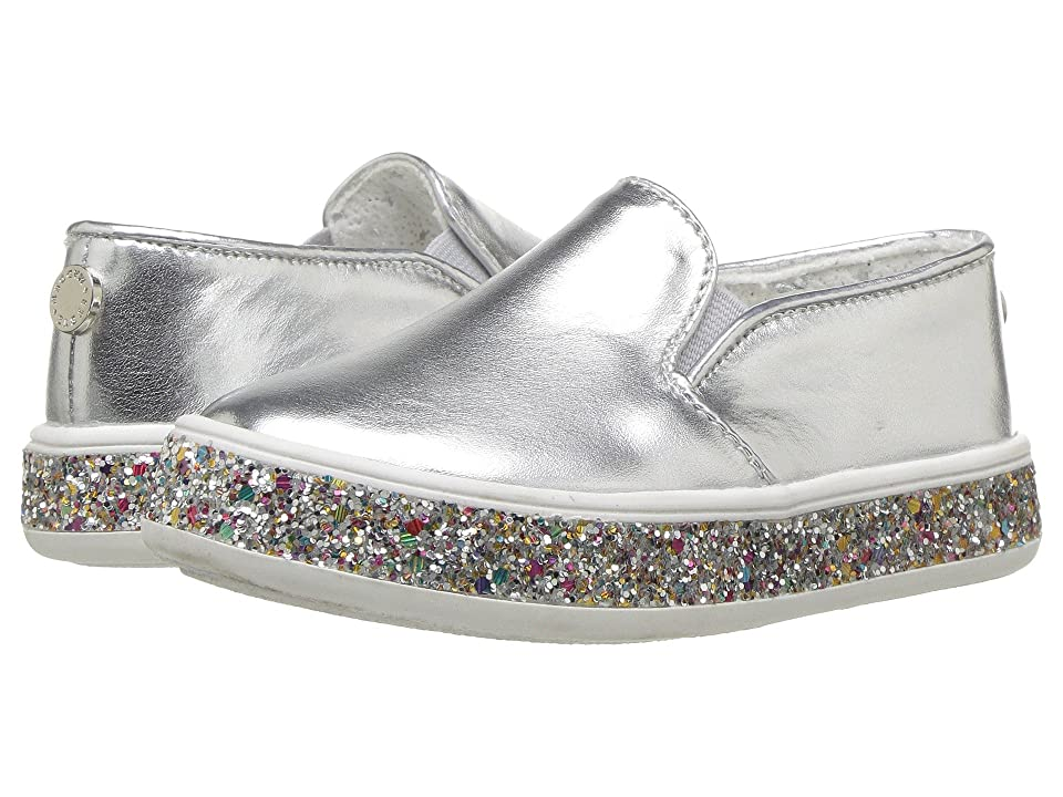 Steve Madden Kids Tgloree (Toddler/Little Kid) (Silver) Girls Shoes