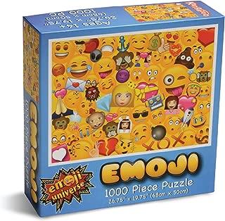 Kangaroo Emoji Universe: 1000-Piece Emoji Jigsaw Puzzle, Emoji Splash