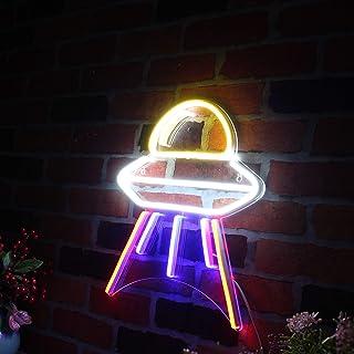 Alien Spaceship Space Flex Silicone LED Neon Sign st16s33-fnu0031-m1