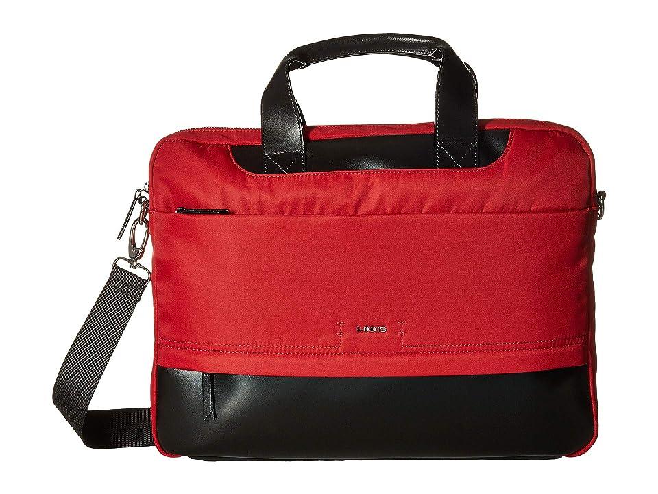 Lodis Accessories Kate Nylon Alexus Brief (Red) Briefcase Bags