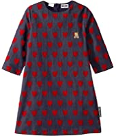 Moschino Kids - Denim Dress w/ All Over Hearts Print (Big Kids)