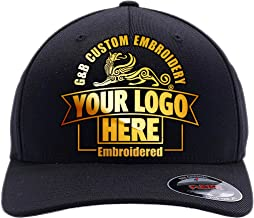 Yupoong Custom Hat 6277 and 6477 Flexfit caps Embroidered. Place Your Own Logo or Design