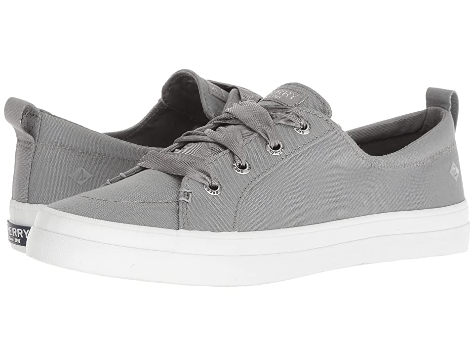 Sperry Crest Vibe Satin Lace (Grey) Women