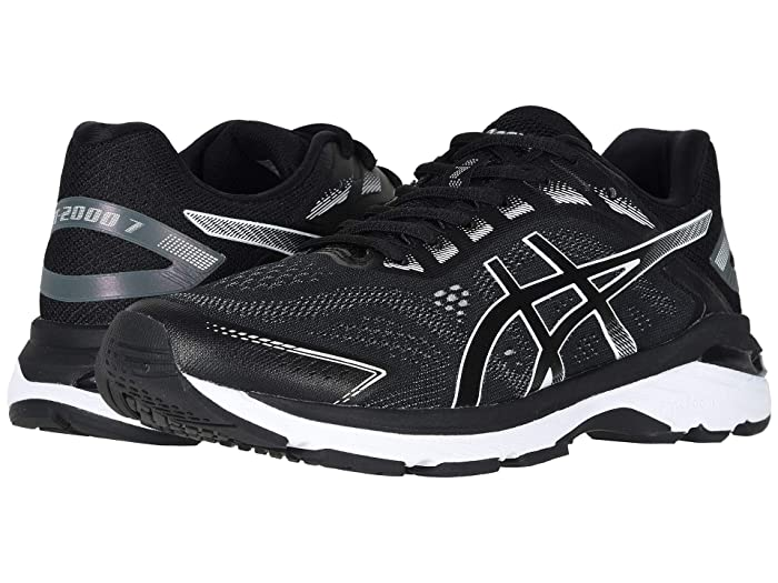 ASICS GT-2000(r) 7 (Black/White) Men's Running Shoes