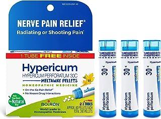 Boiron Hypericum Perforatum 30c Homeopathic Medicine for Nerve Pain Relief, 3 Tubes