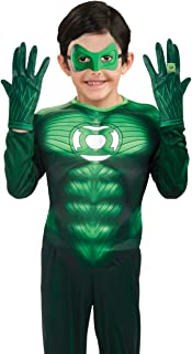 Green Lantern Child Gloves Costume Accessory