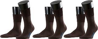 FALKE Unisex Run Socks Cotton Black White More Colours Thin Light Calf Socks Plain With Cushioned Sole Ideal For Summer Lo...