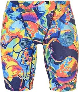 Speedo Digital V Panel Jammers Mens Navy/Red Bottoms Swimwear Sportswear X-Small