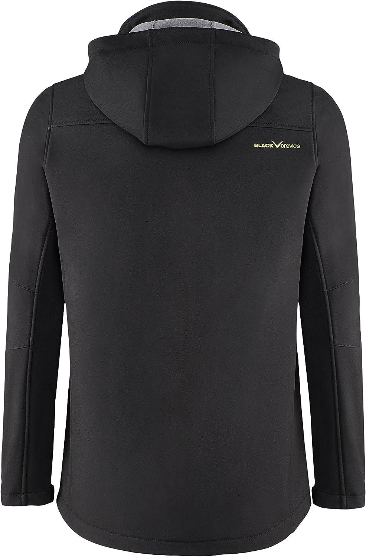 Black Crevice Mens Softshelljacke Softshell jacket