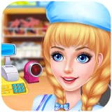 Supermarket Kids Manager : Shopping, dress up, cashier, lost and found, cleaning ! FREE
