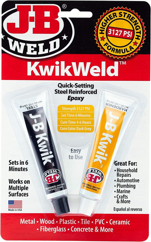 J-B Weld 8276 KwikWeld In stock Quick Setting Da Epoxy Steel Challenge the lowest price of Japan Reinforced -